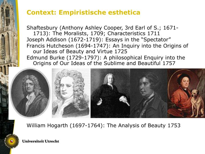 Context: Empiristische esthetica