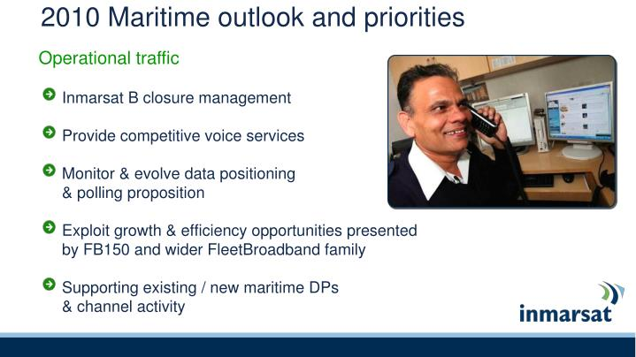 2010 Maritime outlook and priorities