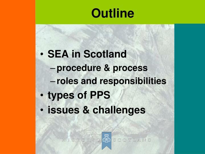 SEA in Scotland