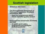 scottish legislation
