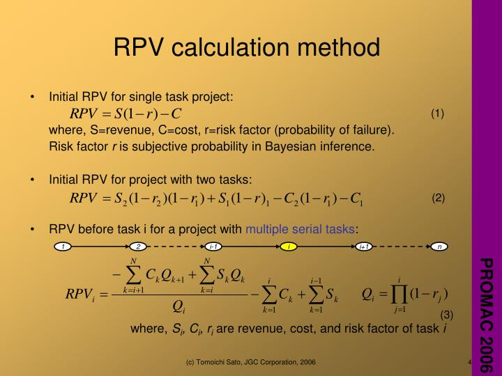 RPV calculation method