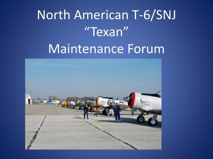 "North American T-6/SNJ ""Texan"""