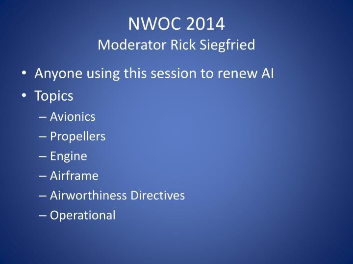 NWOC 2014