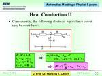 heat conduction ii