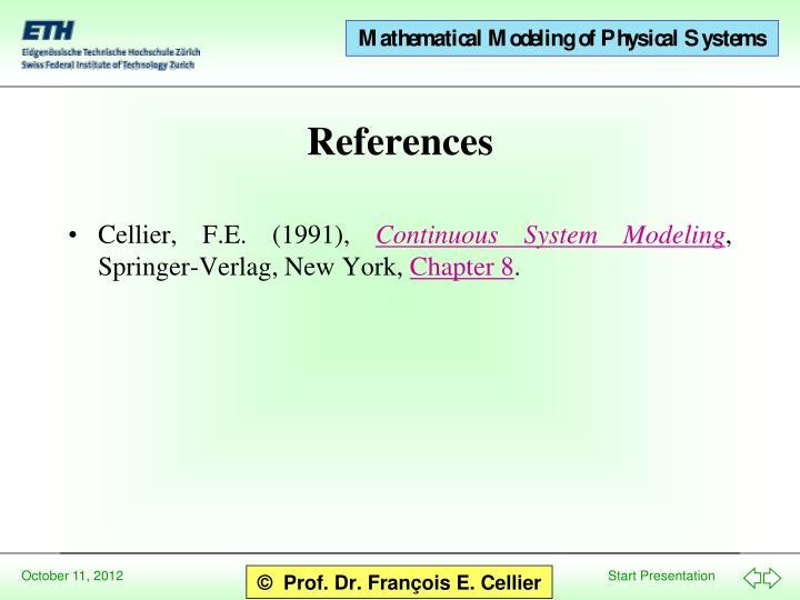 Cellier, F.E. (1991),