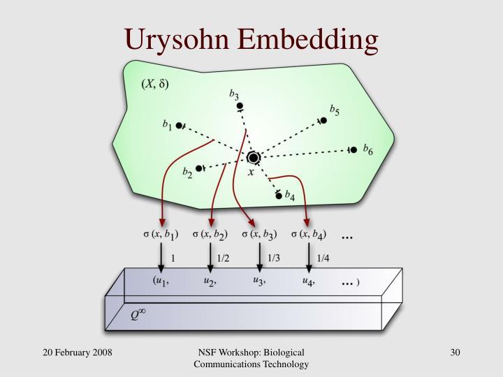 Urysohn Embedding