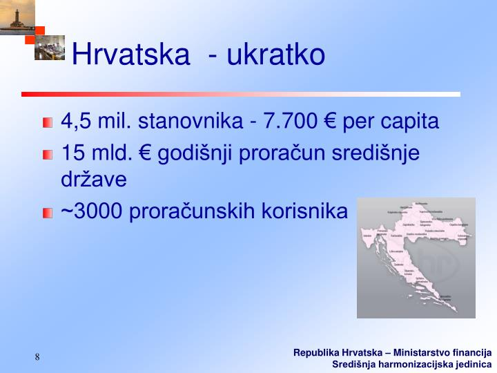 Hrvatska  - ukratko