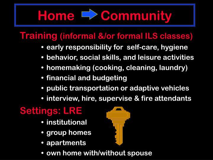 Home        Community
