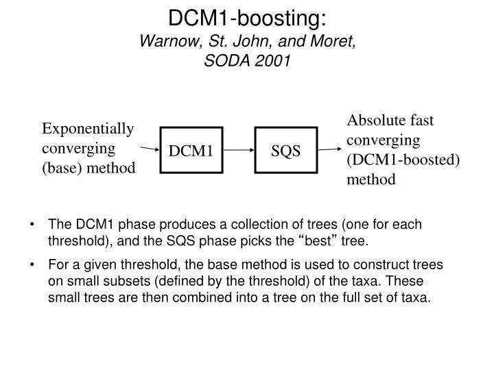 DCM1-boosting: