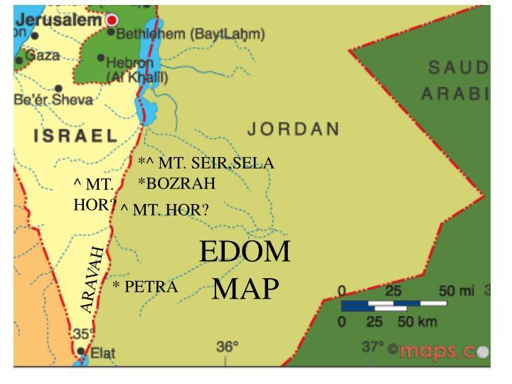 EDOM MAP