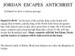jordan escapes antichrist