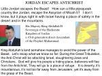 jordan escapes antichrist1