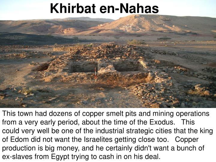 Khirbat en-Nahas