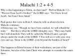 malachi 1 2 4 5
