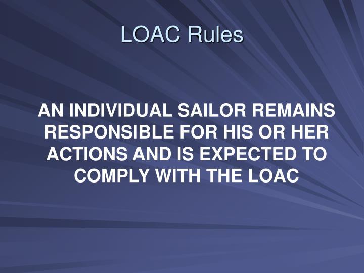 LOAC Rules