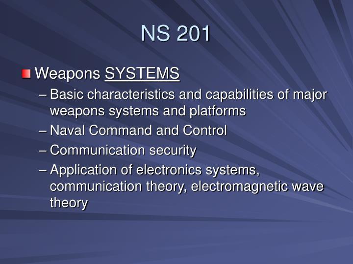 NS 201