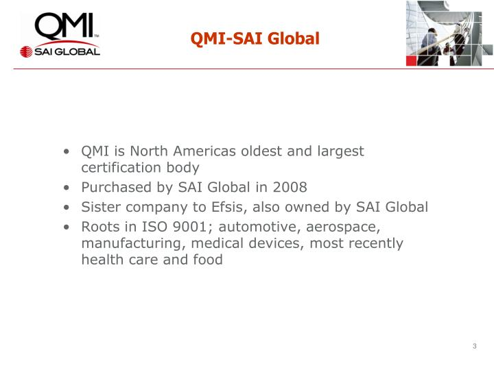 Qmi sai global