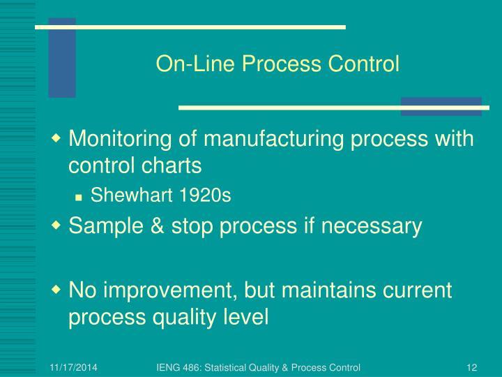 On-Line Process Control