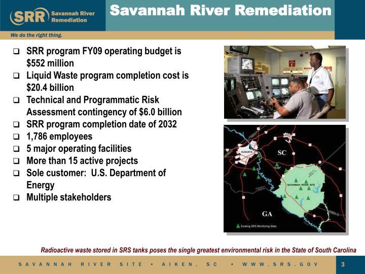 Savannah River Remediation