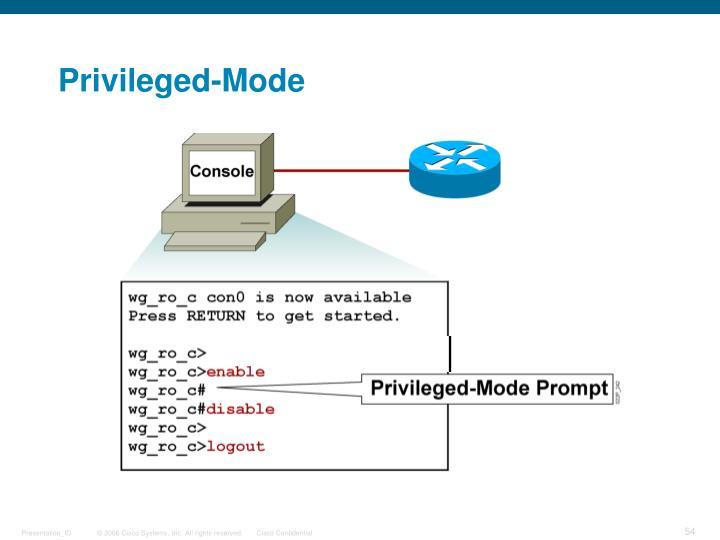 Privileged-Mode