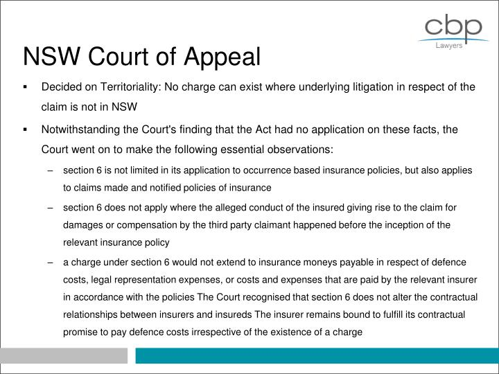 NSW Court of Appeal