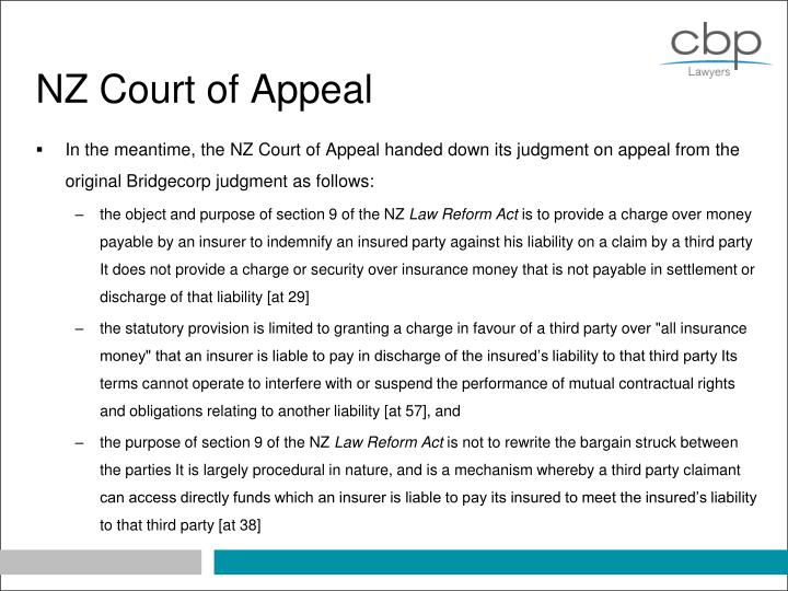 NZ Court of Appeal