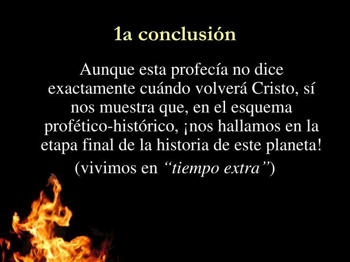 1a conclusión