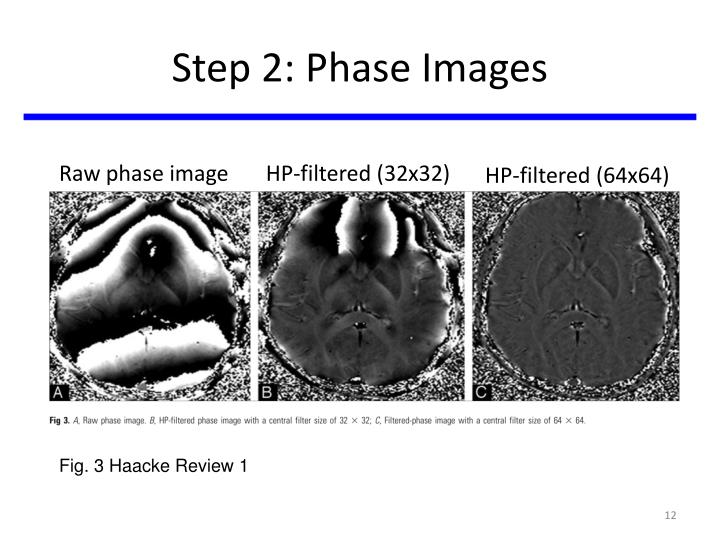 Step 2: Phase Images