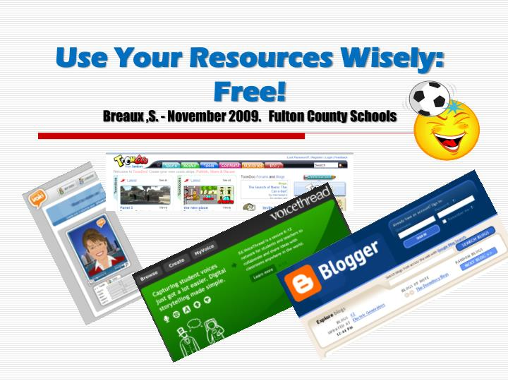 use your resources wisely free breaux s november 2009 fulton county schools