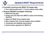 updated insat requirements