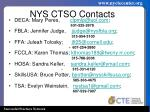 nys ctso contacts