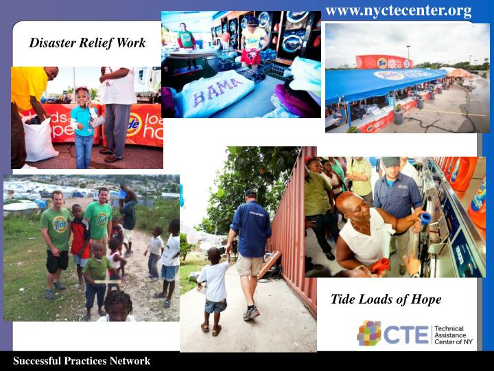 Disaster Relief work