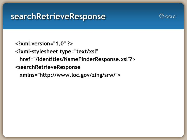 searchRetrieveResponse