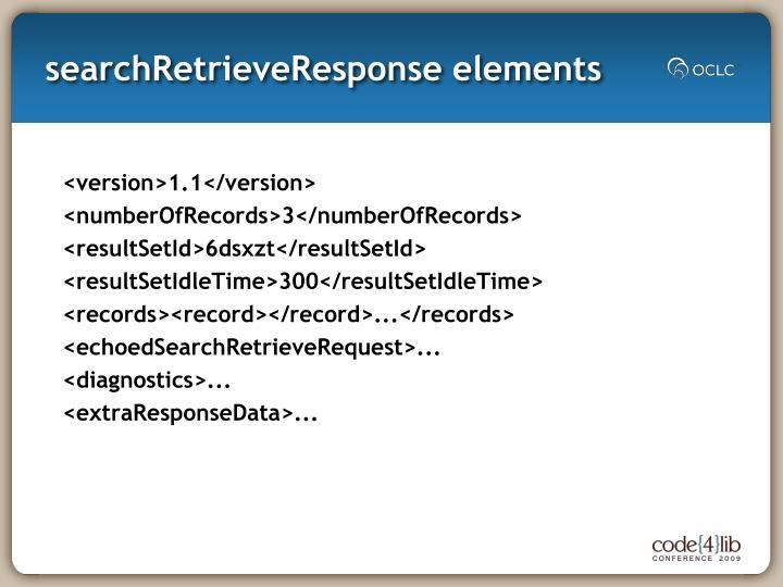searchRetrieveResponse
