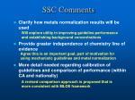 ssc comments1