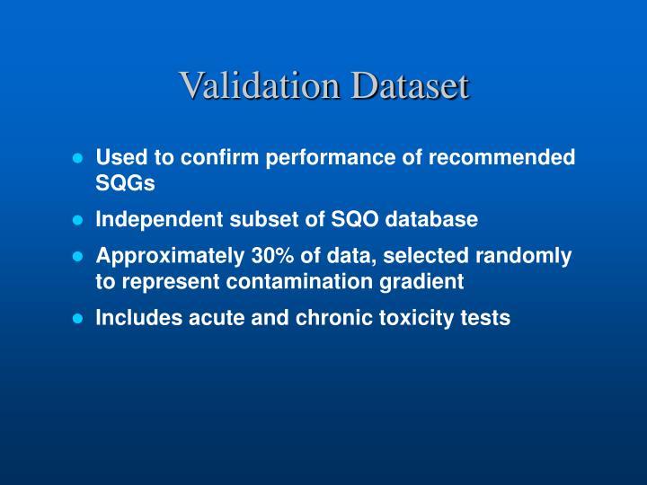 Validation Dataset