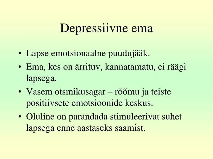 Depressiivne ema