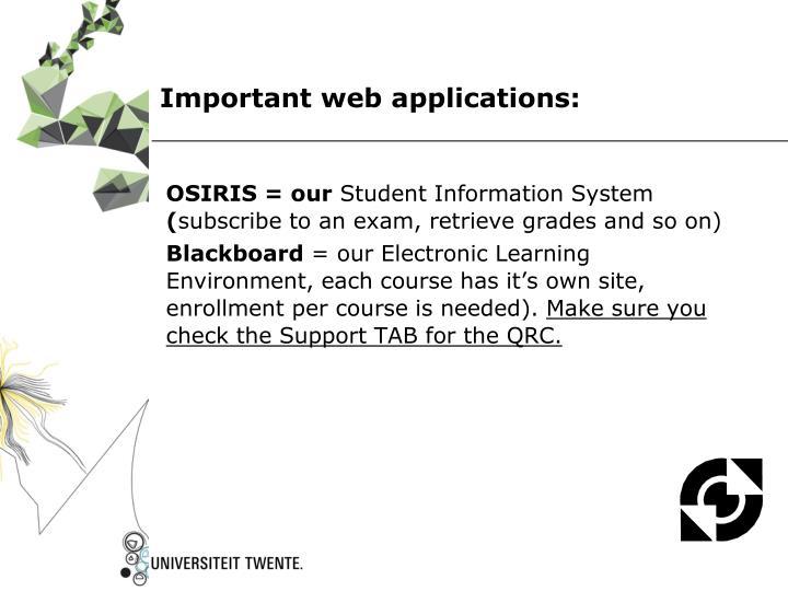 OSIRIS = our