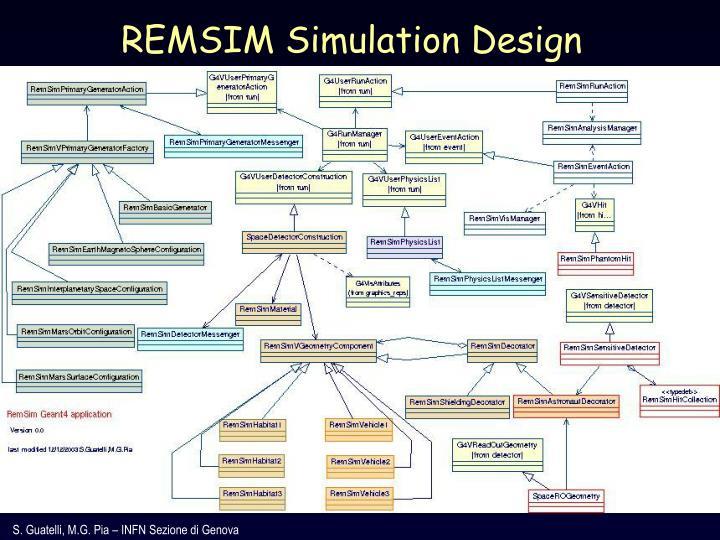 REMSIM Simulation Design
