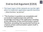 end to end argument e2ea