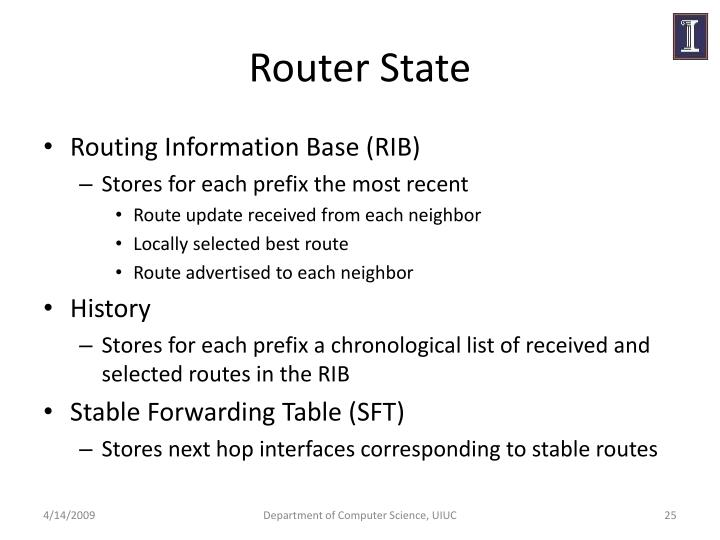 Router State