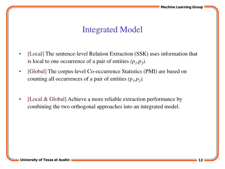 Integrated Model