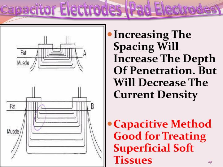 Capacitor Electrodes (Pad Electrodes)