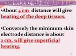 factors influence field distribution in s w d2