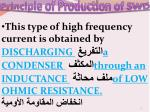 principle of production of swd