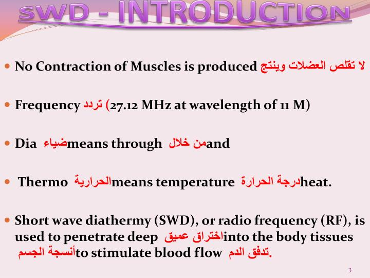 SWD - INTRODUCTION