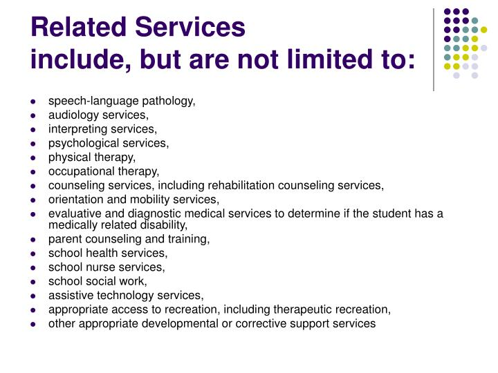 Related Services