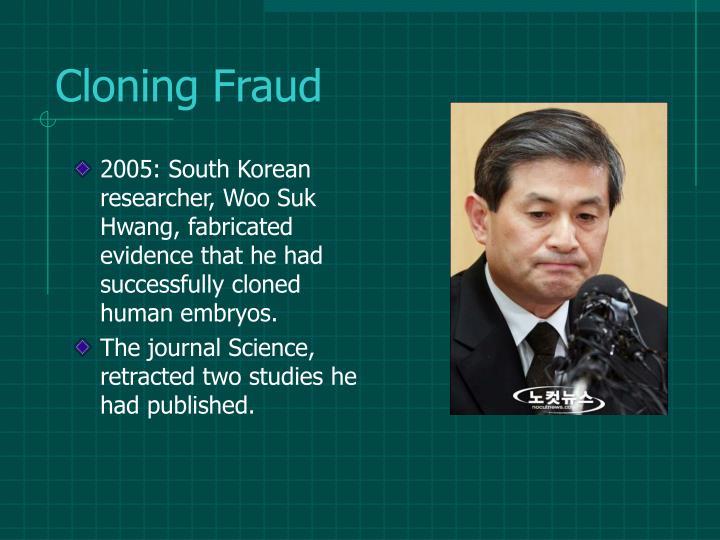 Cloning Fraud