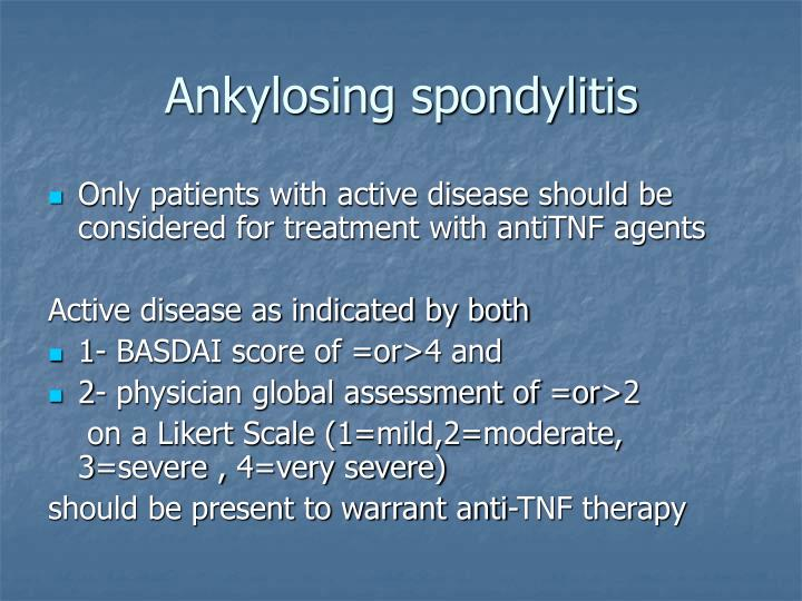 Ankylosing spondylitis