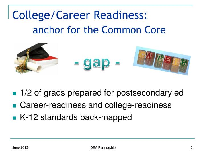 College/Career Readiness: